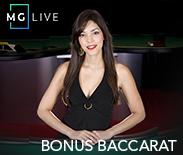 MG Live Bonus Baccarat